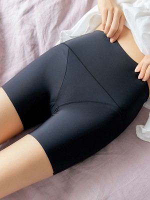 Nylon High Waist Elastic Women's Safety Pants/Safety Shorts