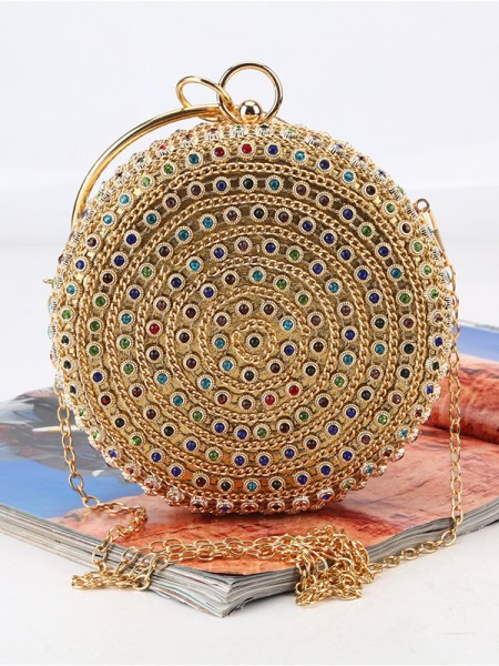 Gorgeous Rhinestone Evening/Party Colourful Crystal Handbags