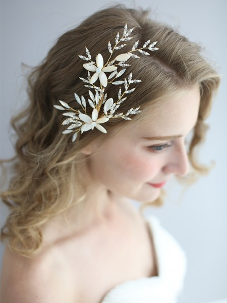 Stunning Czech Alloy Bridal Headpieces