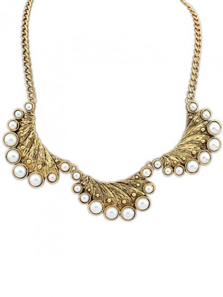 Occident Exotic Retro Peacock Pearls Hot Sale Necklace