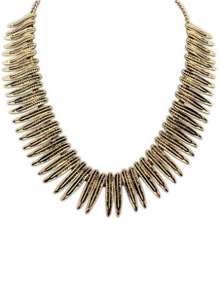 Occident Hyperbolic Punk Personality Metallic Hot Sale Necklace