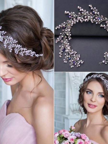 Very Elegant Crystal Wedding Headpieces