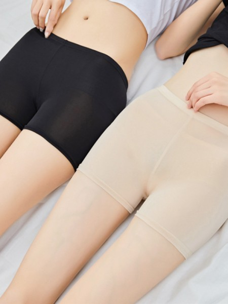 Polyester Fiber Women's Elastic Safety Pants/Safety Shorts